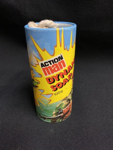 ACTION MAN - VINTAGE LOOSE - DYNAMITE SOAP